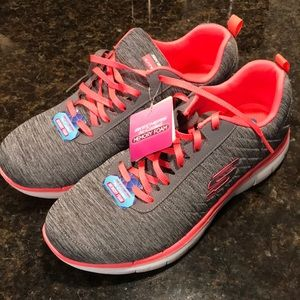 Sketchers with Air Cooled Memory Foam